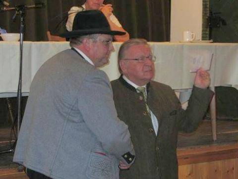 Michael Olk and Manfred Hölzlein
